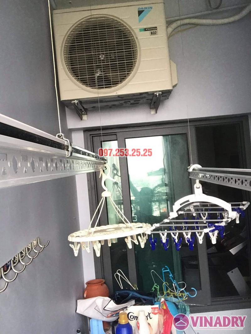 Sửa giàn phơi thông minh tại KĐT Gamuda nhà chị Hòa, tòa The Two Residence - 06