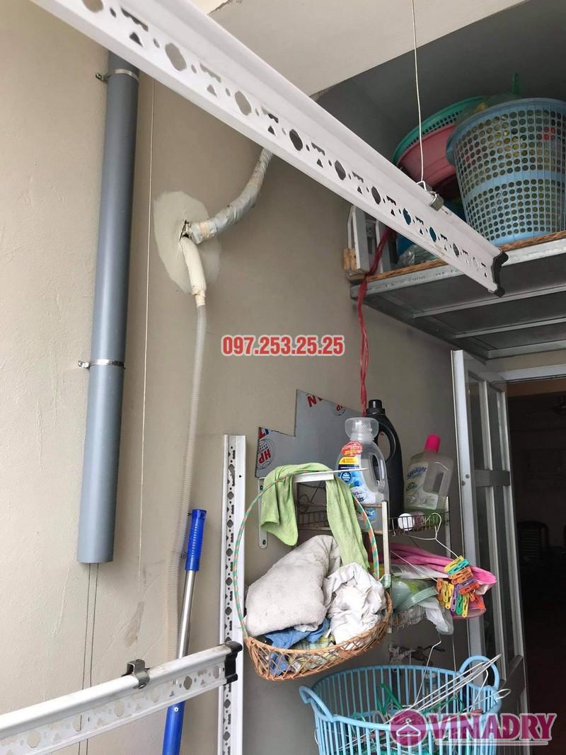 Sửa giàn phơi Long Biên: Thay dây giàn phơi thông minh tại chung cư CT1 Thạch Bàn nhà chị Lệ - 03