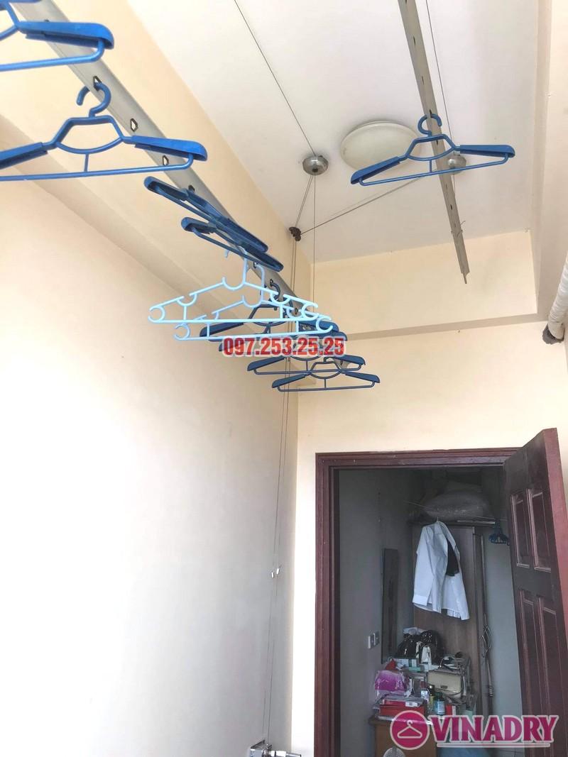Sửa giàn phơi thông minh Cầu giấy nhà chị Ly, chung cư Home City - 05