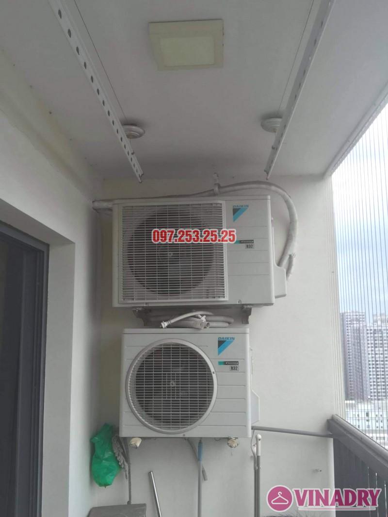 Thay dây cáp giàn phơi thông minh giá rẻ tại chung cư 75 Tam Trinh nhà anh Ba - 04