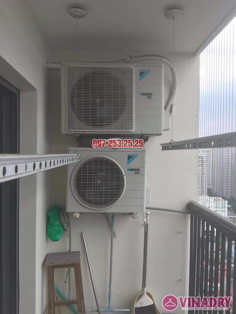 Thay dây cáp giàn phơi thông minh giá rẻ tại chung cư 75 Tam Trinh nhà anh Ba - 05