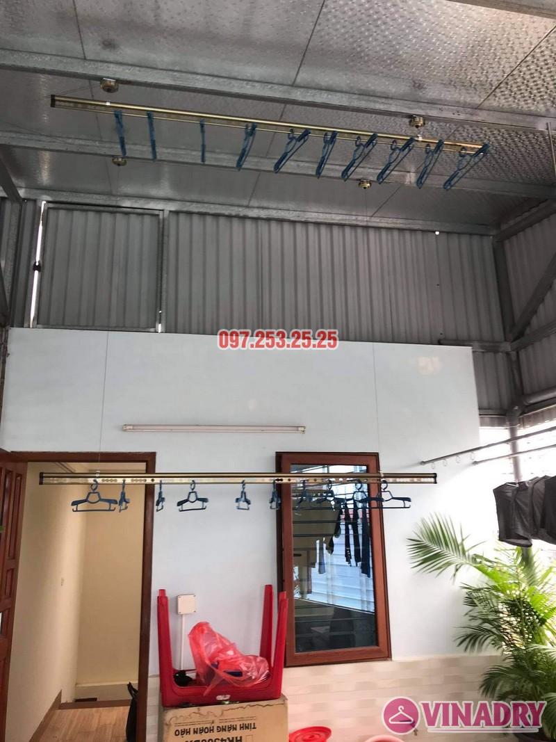 Lắp giàn phơi thông minh Đống Đa nhà anh Định, ngõ 127 Hào Nam - 04