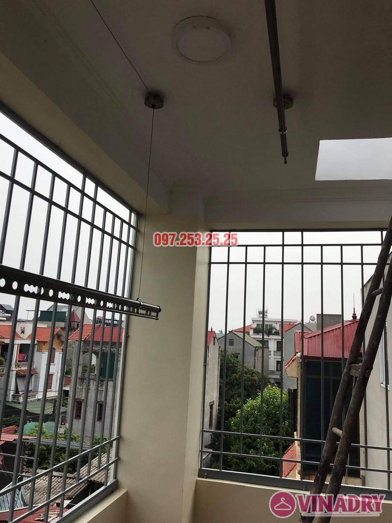 Lắp giàn phơi thông minh tại Long Biên bộ Vinadry GP941 nhà chị hồng, ngõ 344 Ngọc Thụy - 02
