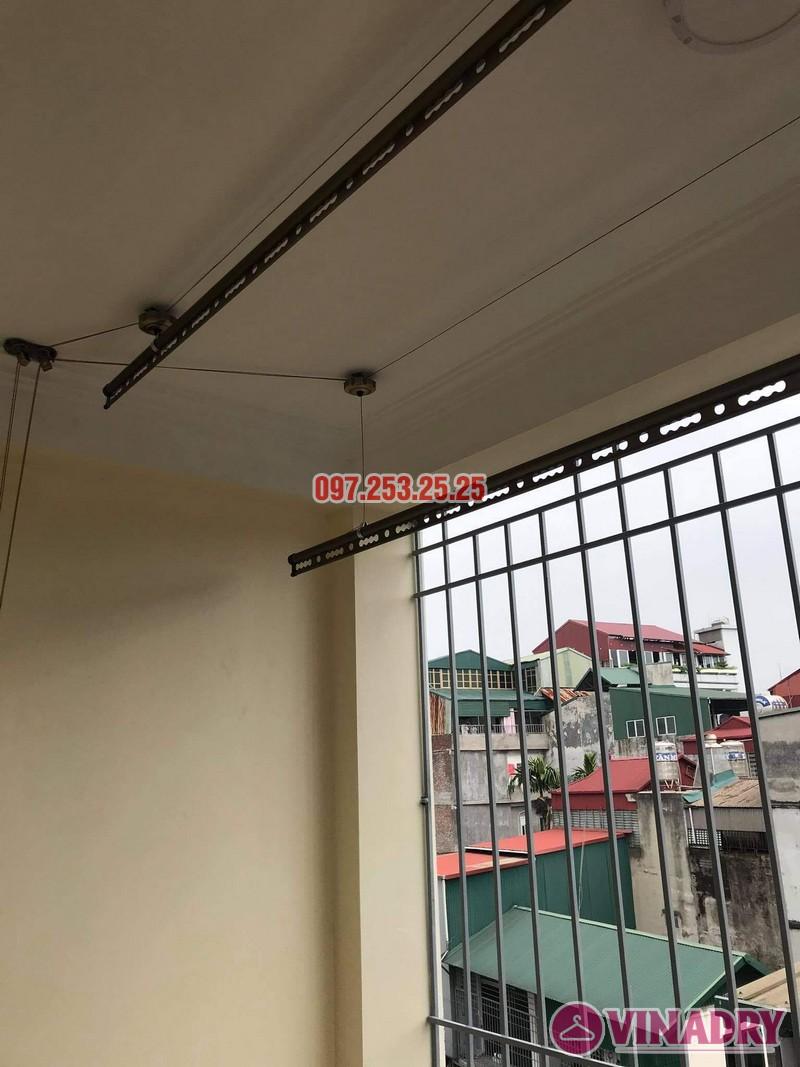 Lắp giàn phơi thông minh tại Long Biên bộ Vinadry GP941 nhà chị hồng, ngõ 344 Ngọc Thụy - 04