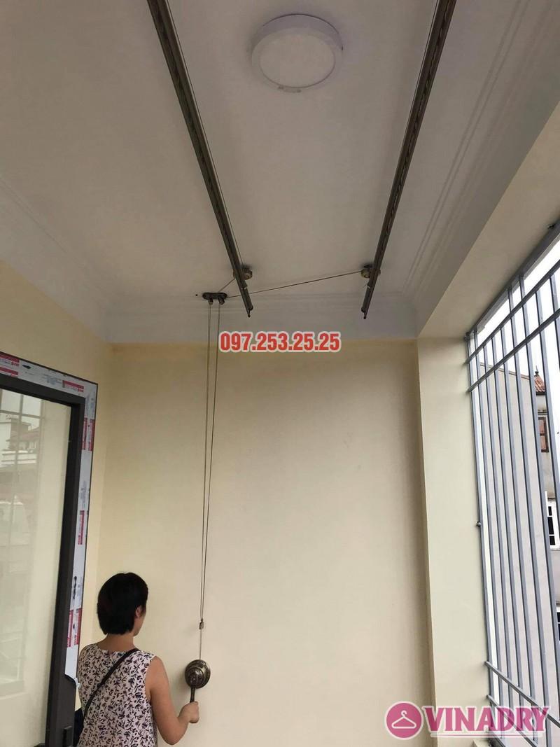 Lắp giàn phơi thông minh tại Long Biên bộ Vinadry GP941 nhà chị hồng, ngõ 344 Ngọc Thụy - 05