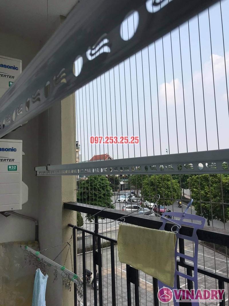 Sửa giàn phơi giá rẻ tại Long Biên nhà chị Nga, chung cư Handico 5 - 04