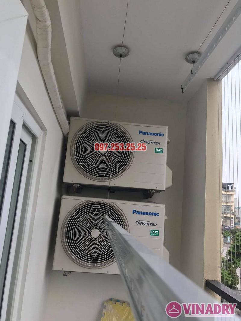 Sửa giàn phơi giá rẻ tại Long Biên nhà chị Nga, chung cư Handico 5 - 01
