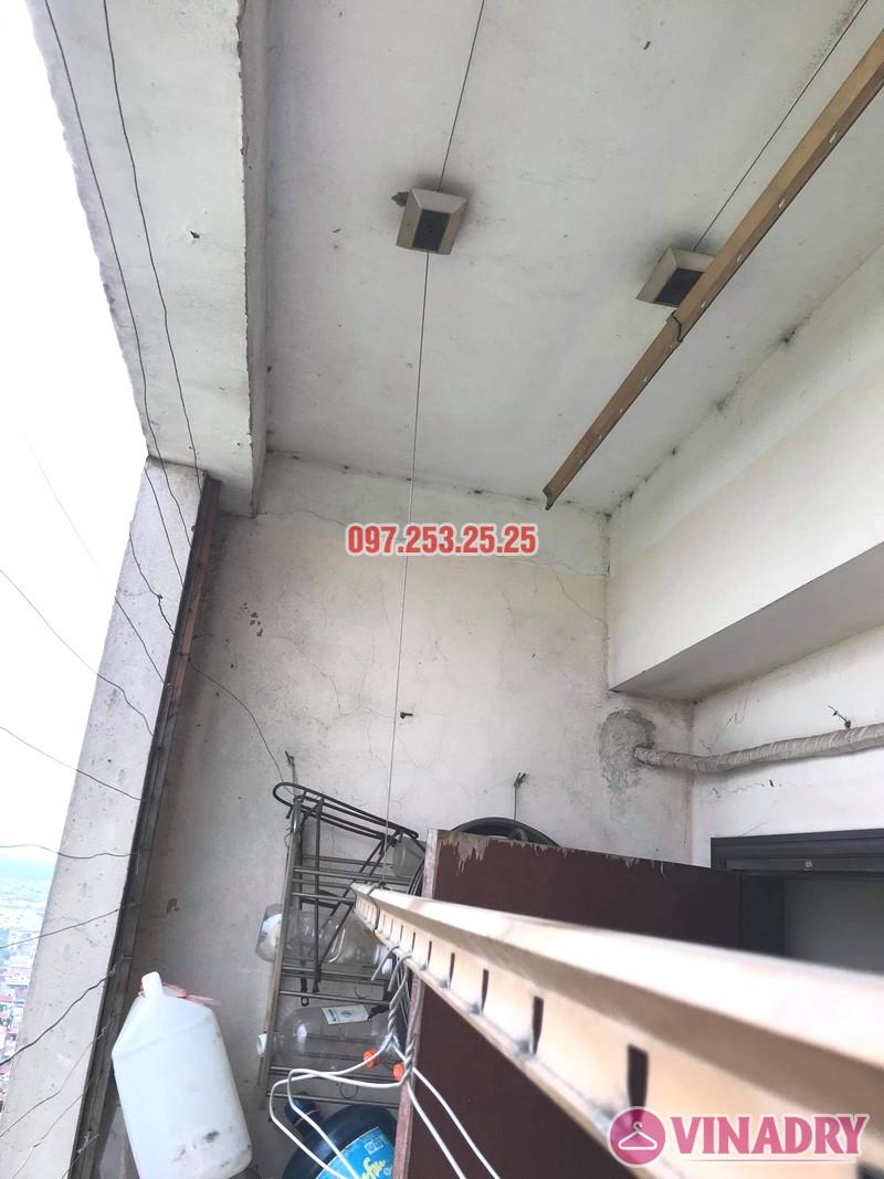 Sửa giàn phơi thông minh tại chung cư học viện hậu cần, Long Biên, Hà Nội - 03