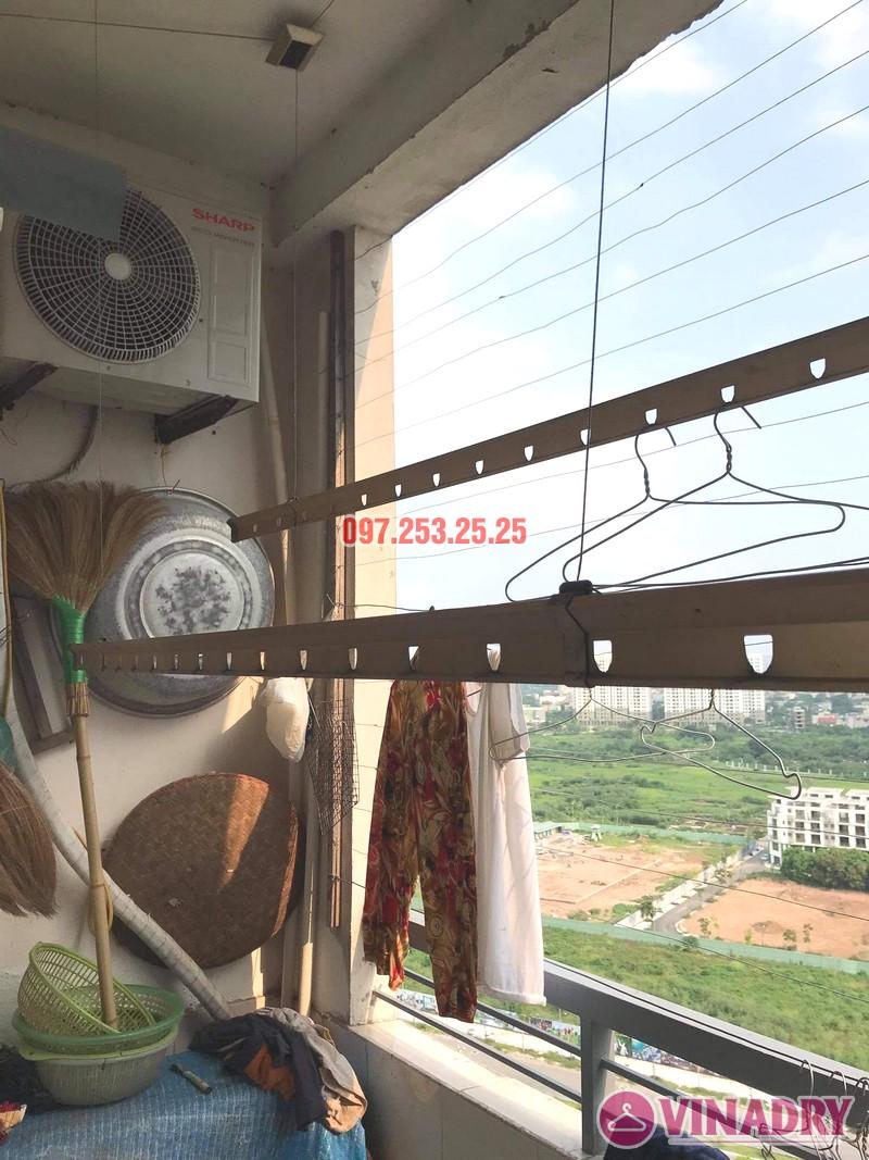 Sửa giàn phơi thông minh tại chung cư học viện hậu cần, Long Biên, Hà Nội - 06