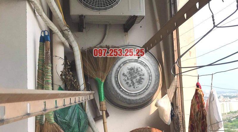 Sửa giàn phơi thông minh tại chung cư học viện hậu cần, Long Biên, Hà Nội - 07