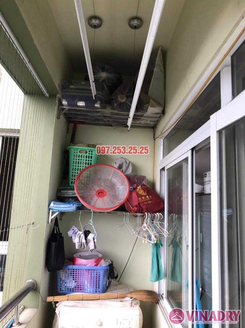 Sửa giàn phơi thông minh Long Biên, thay dây cáp nhà anh Tiến, KĐT Sài Đồng - 05