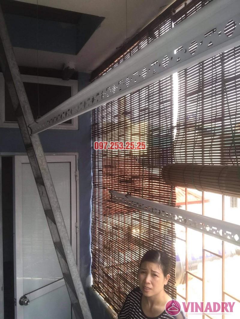 Sửa giàn phơi giá rẻ tại Thanh Trì Hà Nội, nhà chị Vân - 04