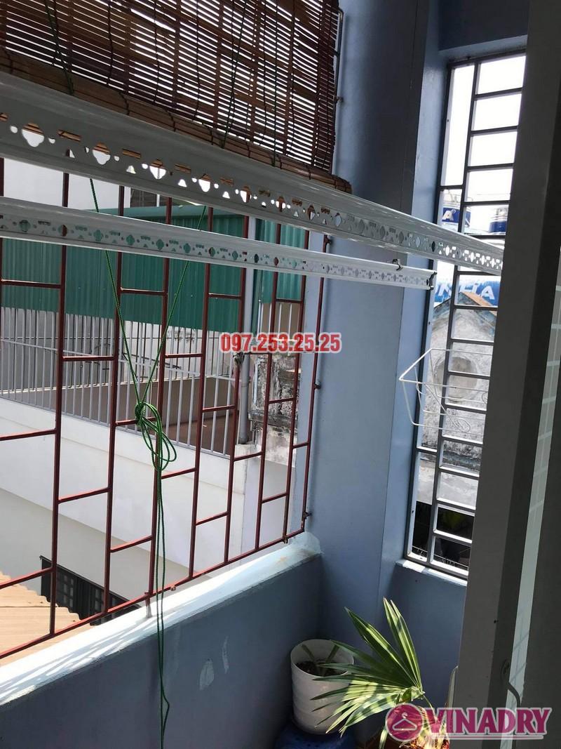 Sửa giàn phơi giá rẻ tại Thanh Trì Hà Nội, nhà chị Vân - 06