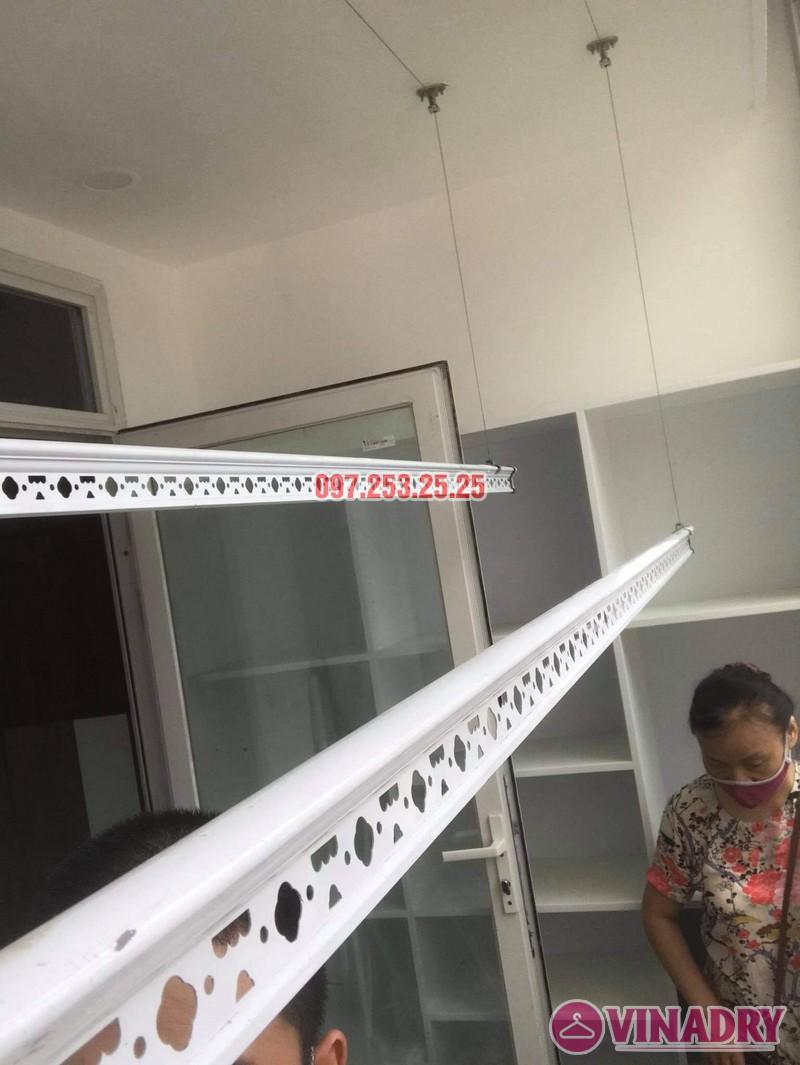 Sửa giàn phơi, thay dây cáp tại Hoài Đức, Hà Nội nhà cô Thảo - 01
