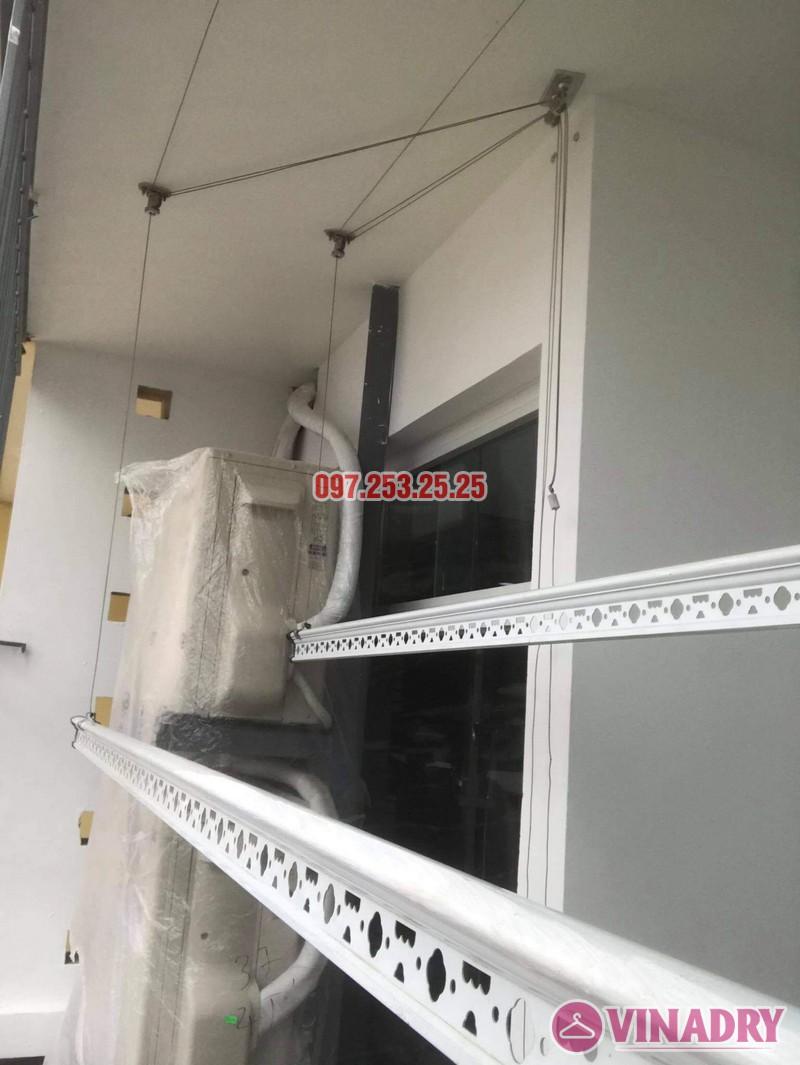 Sửa giàn phơi, thay dây cáp tại Hoài Đức, Hà Nội nhà cô Thảo - 02