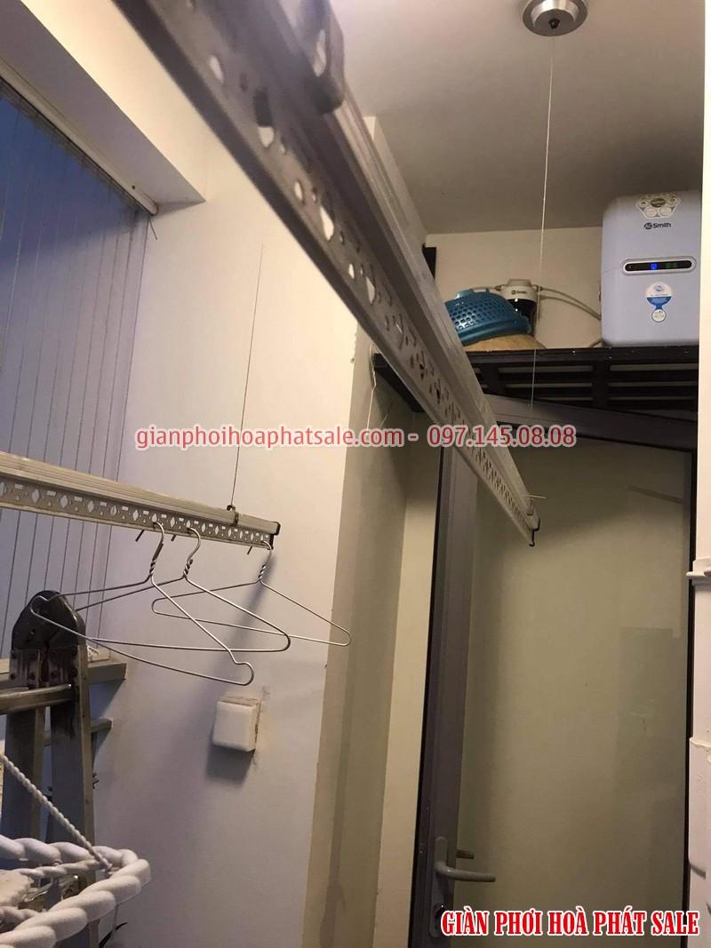 Thay dây giàn phơi thông minh tại Times City nhà anh Khang tòa T2 - 03