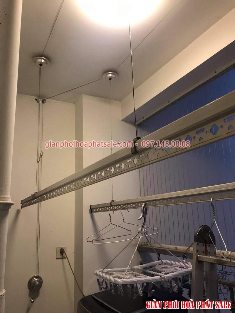 Thay dây giàn phơi thông minh tại Times City nhà anh Khang tòa T2 - 04