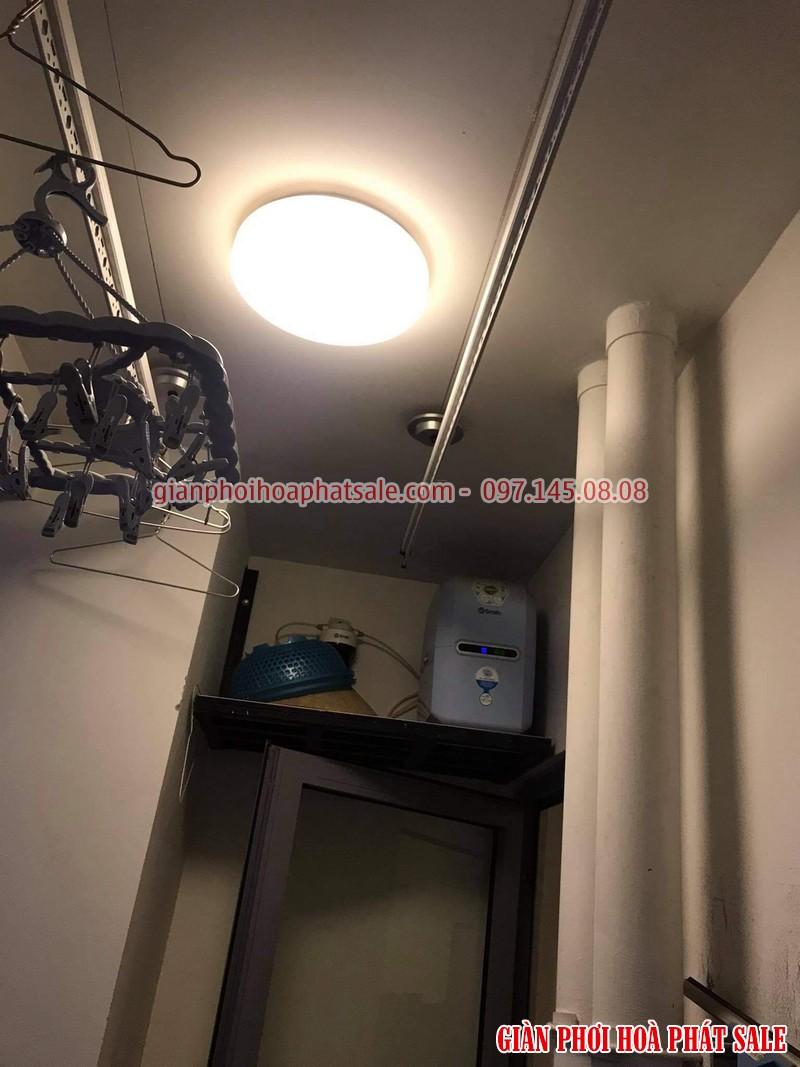Thay dây giàn phơi thông minh tại Times City nhà anh Khang tòa T2 - 06