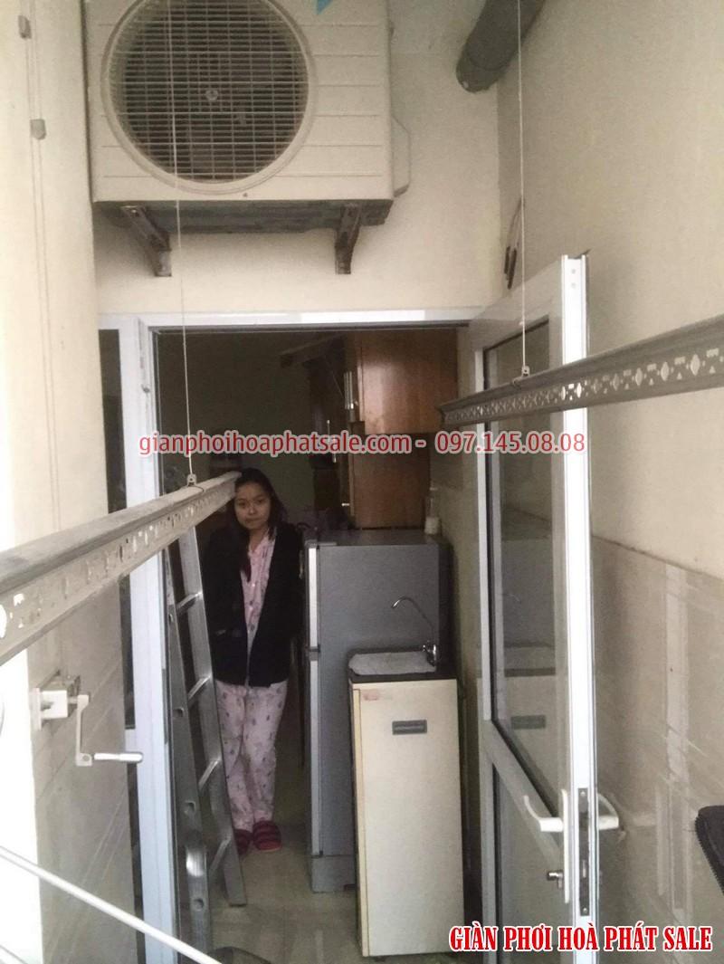 Sửa giàn phơi quần áo tại Hai Bà Trưng: thay dây cáp cho nhà chị Thêm, chung cư Thăng Long Garden - 03