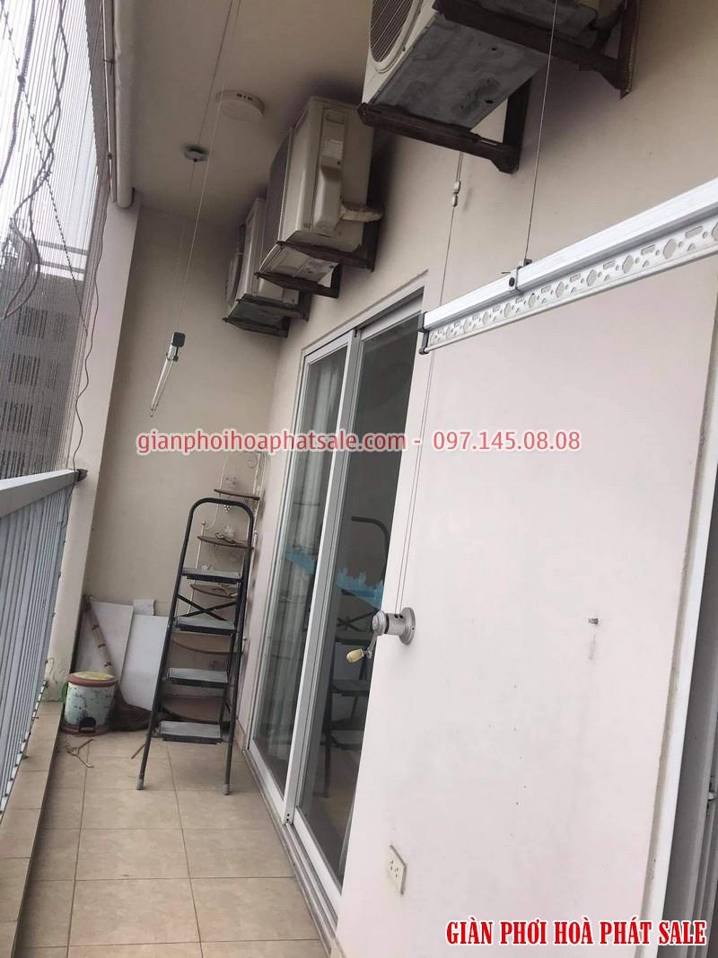Sửa giàn phơi tại Long Biên: thay dây cáp ở chung cư 390 Nguyễn Văn Cừ giá rẻ - 02
