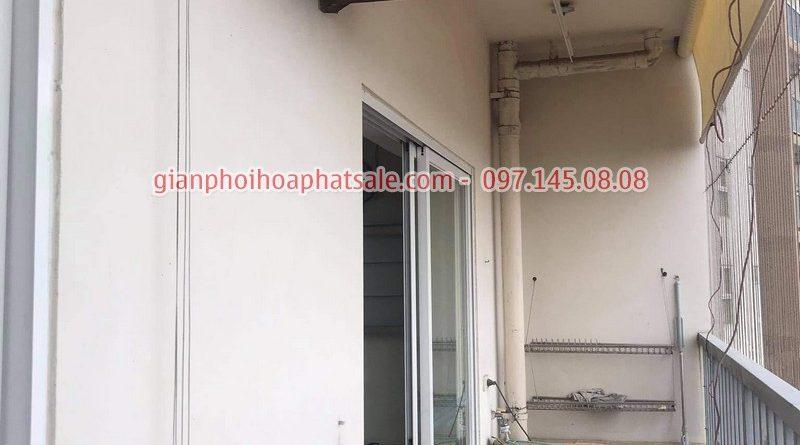 Sửa giàn phơi tại Long Biên: thay dây cáp ở chung cư 390 Nguyễn Văn Cừ giá rẻ - 04