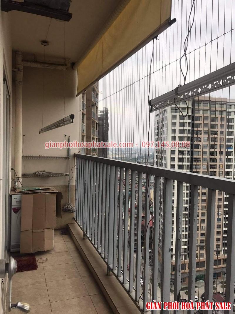 Sửa giàn phơi tại Long Biên: thay dây cáp ở chung cư 390 Nguyễn Văn ừ giá rẻ - 05