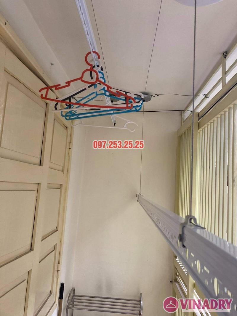 Lắp giàn phơi thông minh Ba Đình, ngõ 29 Kim Mã nhà chị Nhung - 04