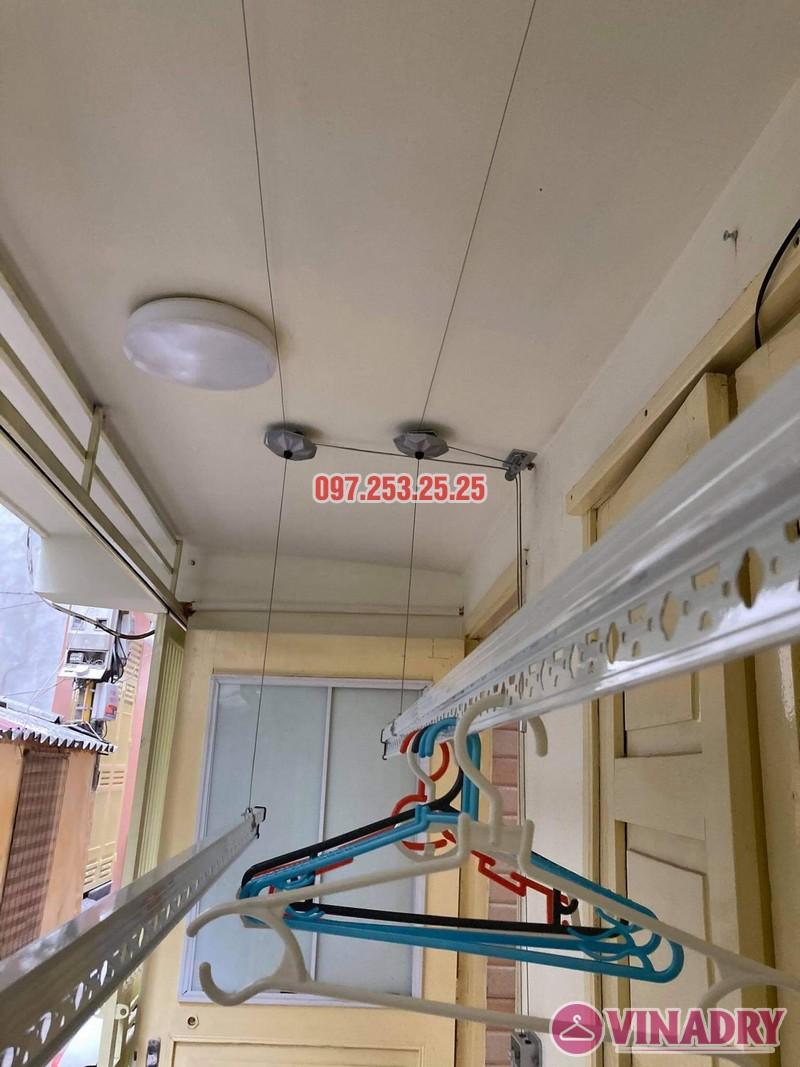 Lắp giàn phơi thông minh Ba Đình, ngõ 29 Kim Mã nhà chị Nhung - 05