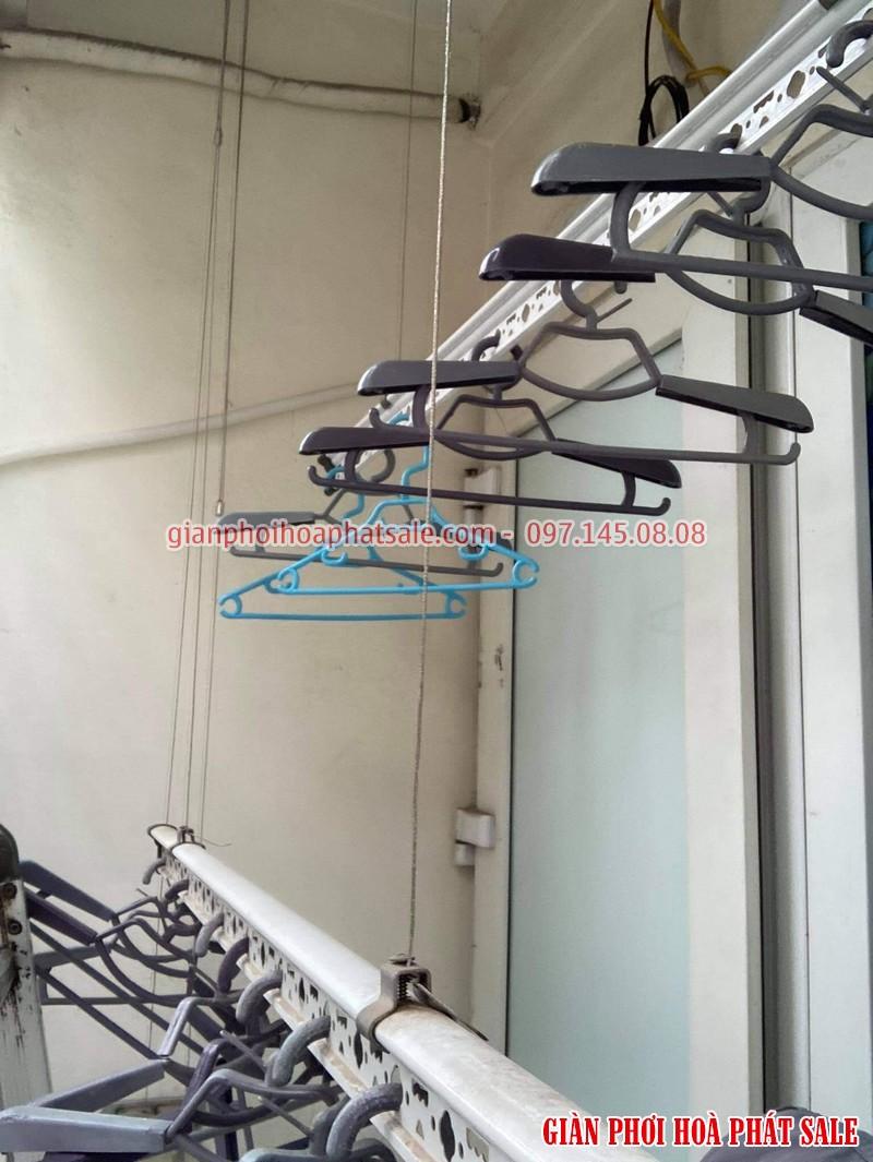 Sửa giàn phơi quần áo tại Long Biên: thay dây cáp giá rẻ ở chung cư Kinh Đô nhà anh Trí - 02
