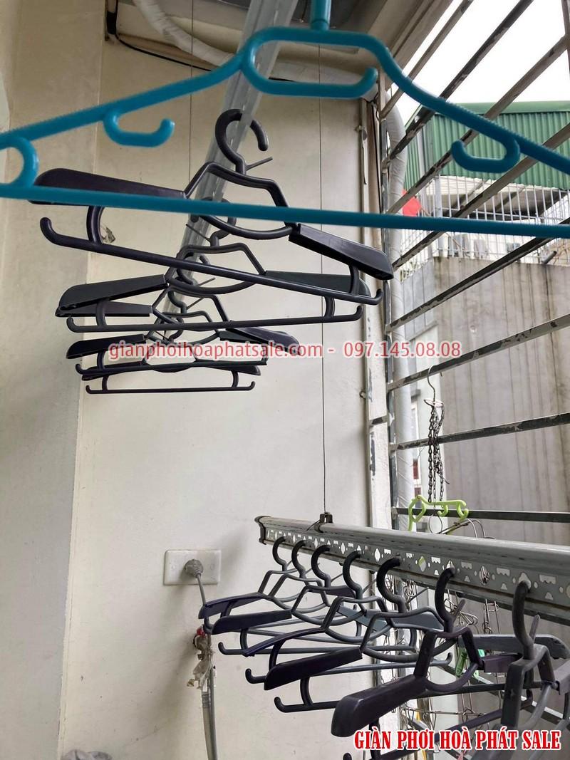 Sửa giàn phơi quần áo tại Long Biên: thay dây cáp giá rẻ ở chung cư Kinh Đô nhà anh Trí - 03