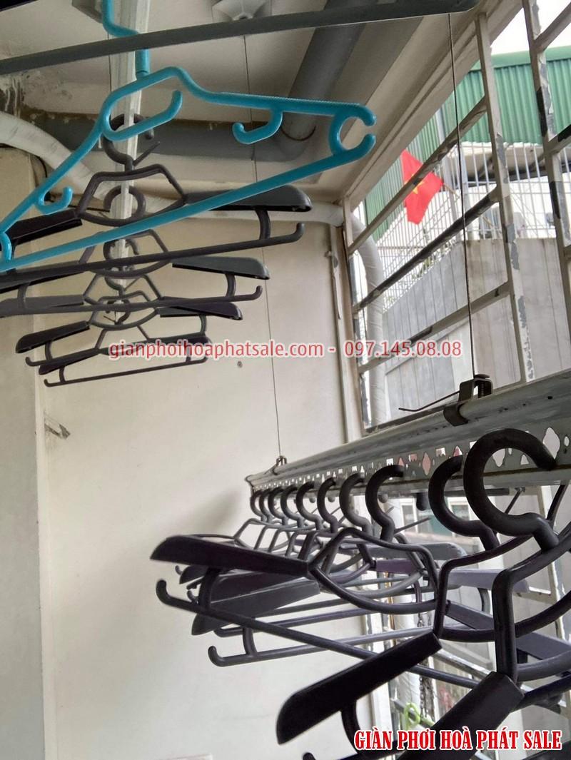 Sửa giàn phơi quần áo tại Long Biên: thay dây cáp giá rẻ ở chung cư Kinh Đô nhà anh Trí - 06