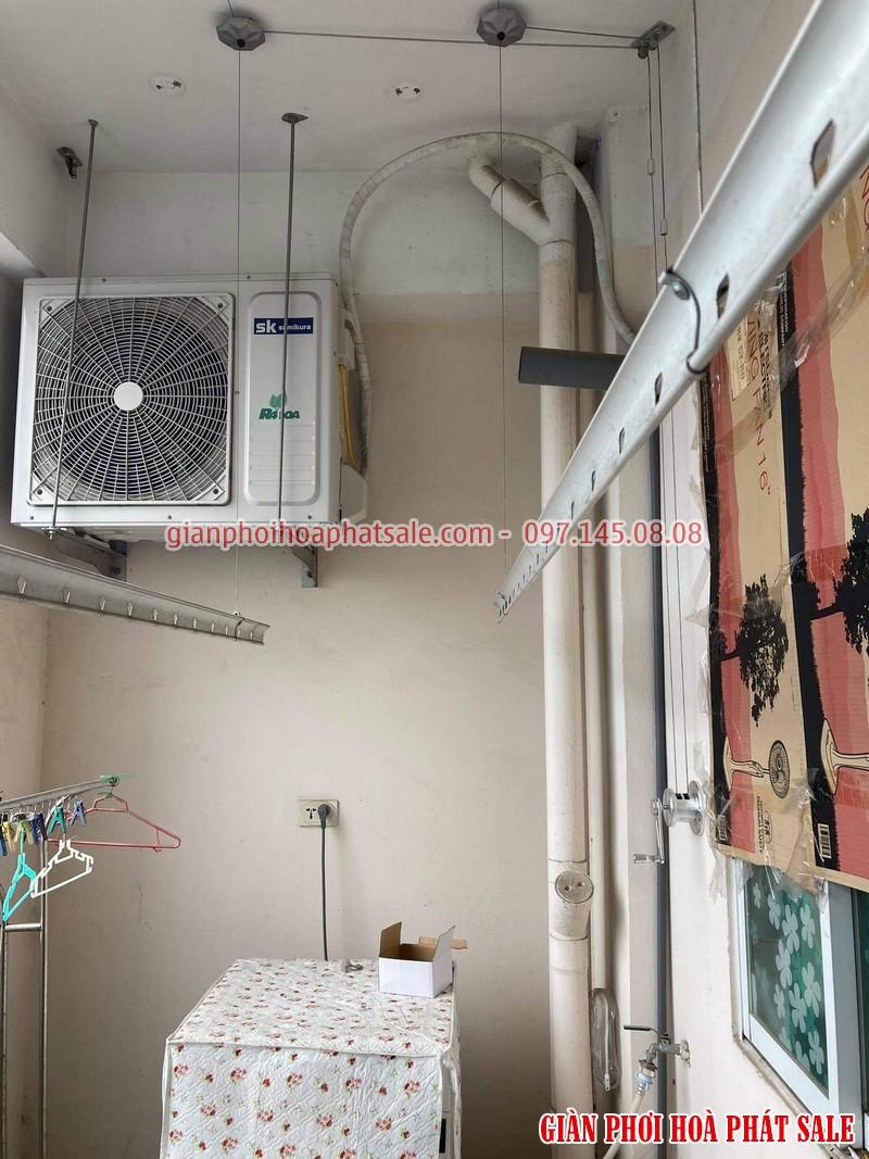 Sửa giàn phơi Long Biên, thay linh kiện giá rẻ tại nhà chị Oanh, chung cư học viện hậu cần - 05